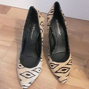 Only worn once BCBGeneration printed heels